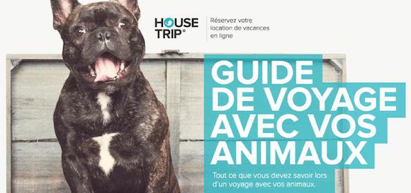 Ma participation pour : «Le Guide de Voyage avec vos Animaux» par HouseTrip