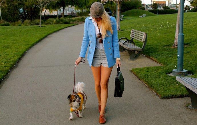 Comment s'habiller pour aller se promener avec son chien ?