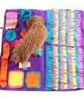 tapis de fouille pour chien