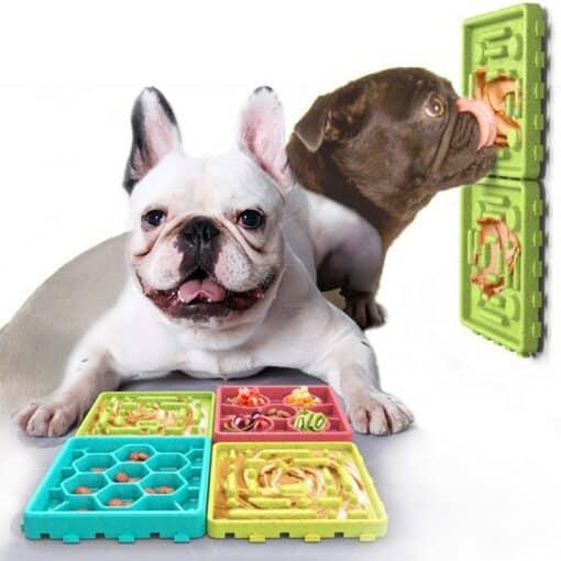 tapis anti-glouton pour chien