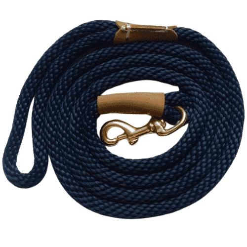 laisse pour chien bleu marine